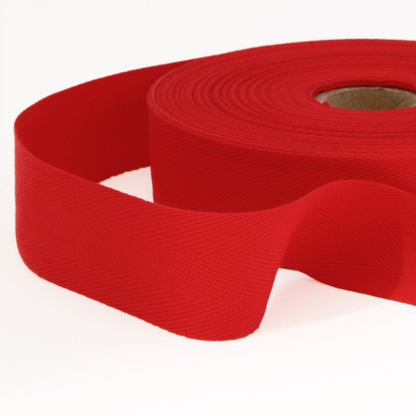 Kanttinauha puuvilla lev. 15mm punainen (900871), [field_category]
