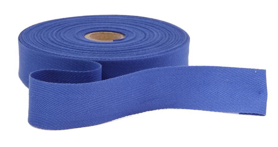 Kanttinauha puuvilla lev. 15mm sininen (900854), Ompelutarvikkeet, Kanttinauhat, Puuvillanauhat