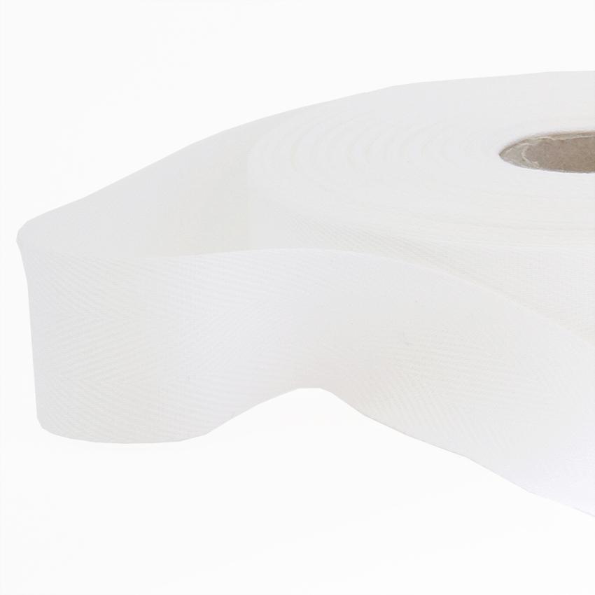 Kanttinauha puuvilla lev. 30mm valkoinen (902210), [field_category]