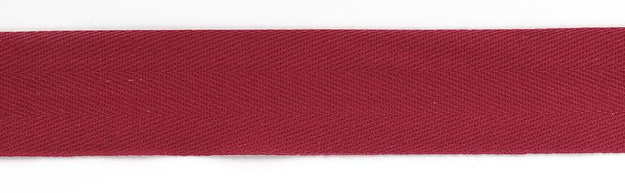 Kanttinauha puuvilla lev. 30mm viininpunainen (902274), Ompelutarvikkeet, Kanttinauhat, Puuvillanauhat