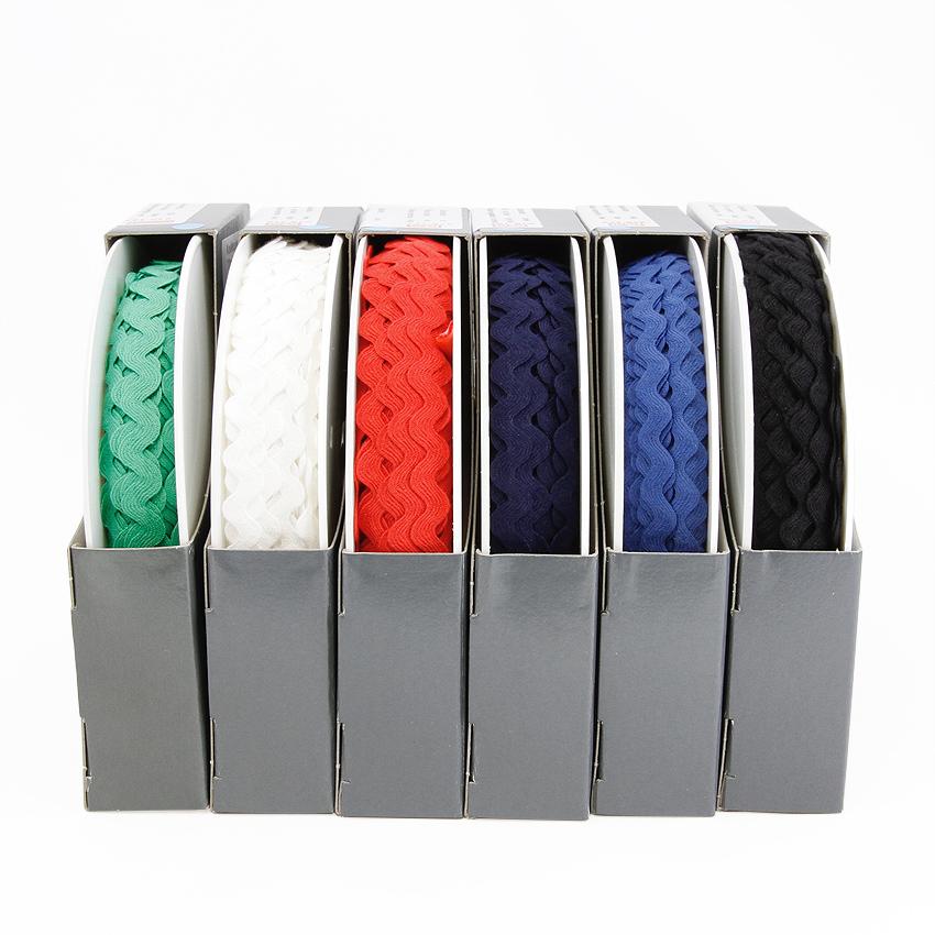 SIKSAK-nauha lev. 11 mm Vihreä (918143), Ompelutarvikkeet, Nauhat ja nyörit