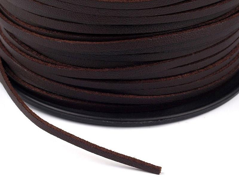 Nahkanauha Eco-Leather lev. 2,5mm, vahv. 1,5mm (ST028V), Ompelutarvikkeet, Nauhat ja nyörit