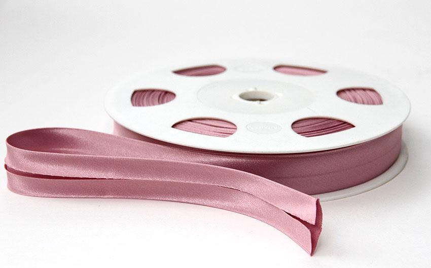 Satiinivinonauha lev. 20mm roosa (FU19V), Ompelutarvikkeet, Satiininauhat