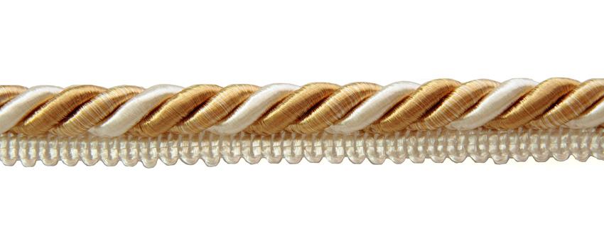 Terenauha lev. 15mm, halk. 10mm kulta-valko (FU04KVV), Ompelutarvikkeet, Terenauhat