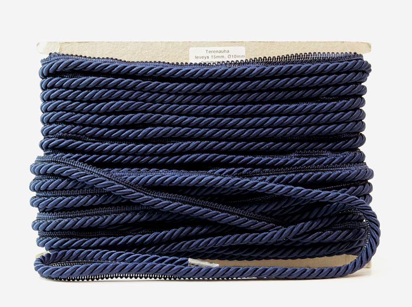 Terenauha lev. 15mm, halk. 10mm tummansininen (FU04TSV), Ompelutarvikkeet, Terenauhat