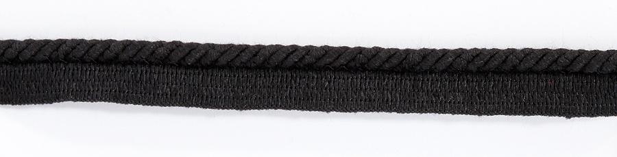 Terenauha lev. 20 mm, halk. 6 mm musta (DT043MV), Ompelutarvikkeet, Terenauhat