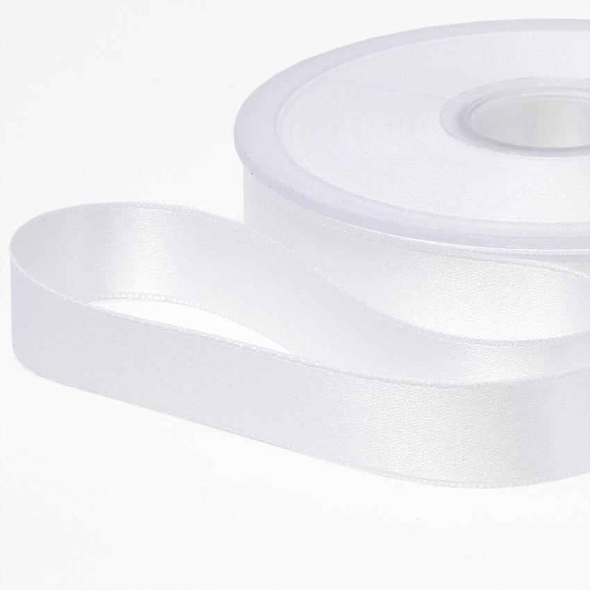 Tuplasatiininauha 15mm Valkoinen 982510, [field_category]