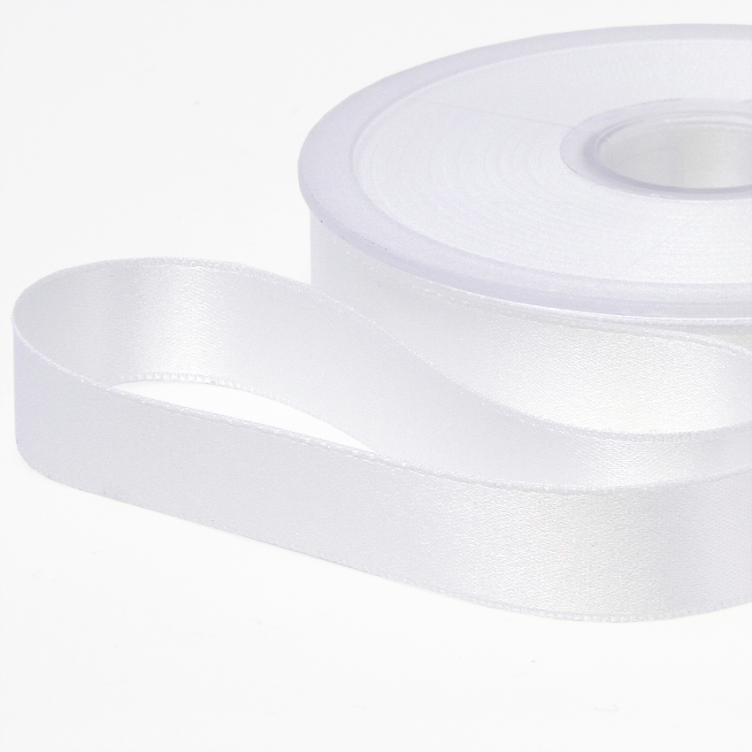 Tuplasatiininauha 25mm Valkoinen 982710, [field_category]