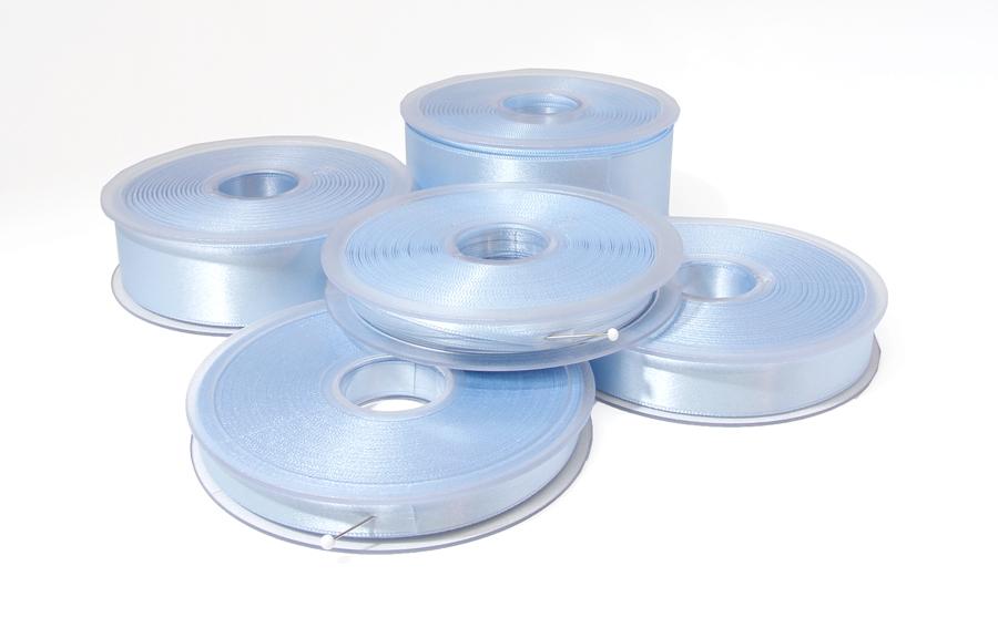 Tuplasatiininauha 10mm Vaaleansininen 982452, Ompelutarvikkeet, Satiininauhat