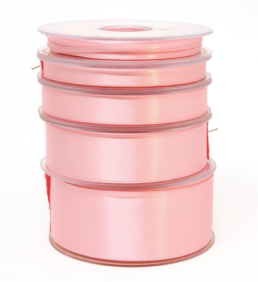 Tuplasatiininauha 3mm Vaaleanpunainen 982283, Ompelutarvikkeet, Satiininauhat