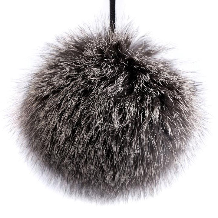 Turkistupsu halkaisija 12cm grey-brown  (ST070GBV), Verhotupsut, Ompelutarvikkeet, Verhotupsut, Sisustustupsut, Tupsut